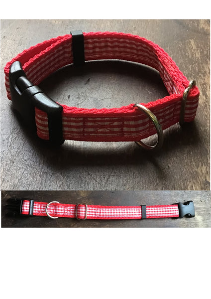 Gingham M 19mm Adjustable Clip Collar