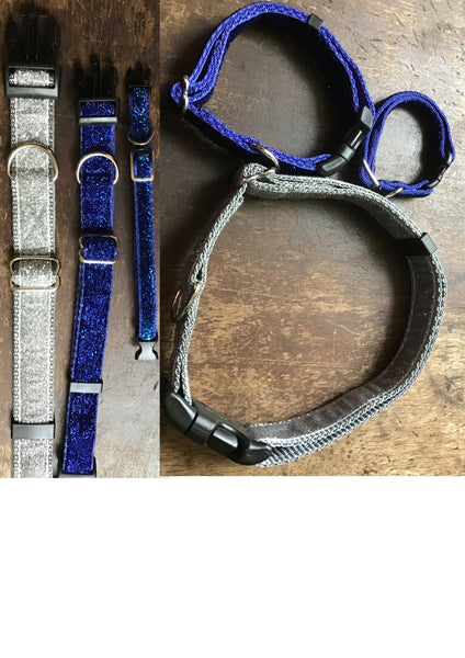 Glitter Dog Collar M - XL