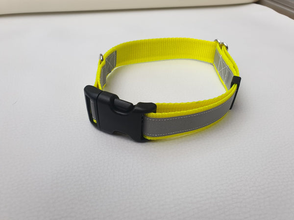 25mm Hi Viz Reflective Dog Leads Collars Harnesses