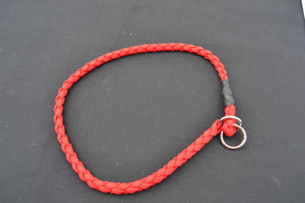 "Braided Paracord Slip Collar 32"" - 40"""