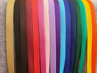 "All In One 30"" 13mm Webbing Show Lead With Chain 24"" - 36"""