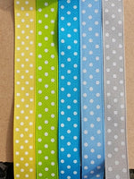 Polka Dot S 19mm Adjustable Clip Collar
