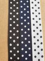Polka Dot M 19mm Adjustable Clip Collar