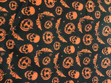 Halloween Bandanna Black + Orange