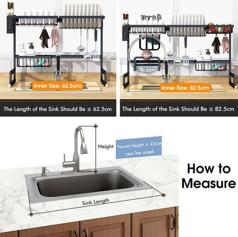 Dish Rack How to Measure