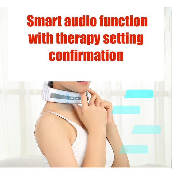 Tri-relief Electric Neck Massager