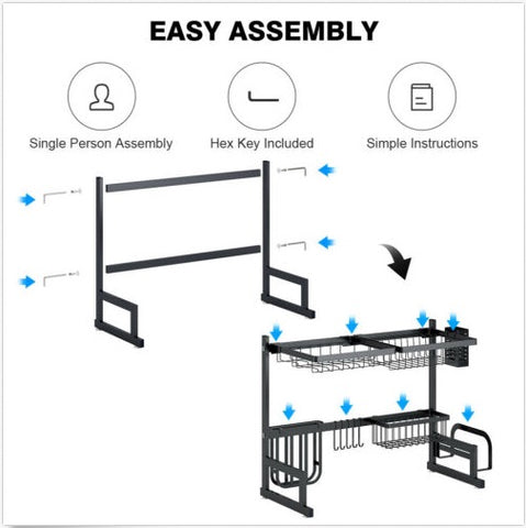 Vortech Drying Rack Easy Assembly
