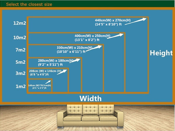 How to measure your wall space