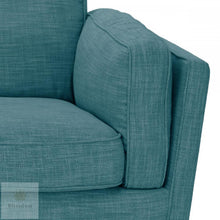 York 3 Seater Sofa - Teal