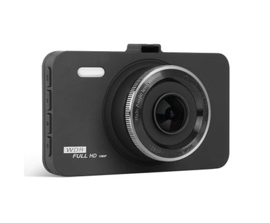 UL Tech 3 Inch Dash Car Camera with 32GB & Suction Mount - Black