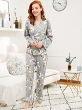 Botanic Bliss Wrap Top & Pants Pj Set