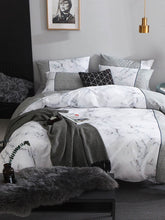 Marbleous Bed Set