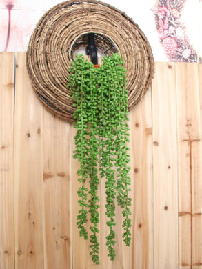 String of Pearls Faux Hanging Plant
