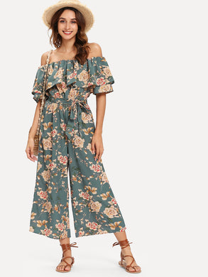 Flounce Jumpsuit (7 Colours)