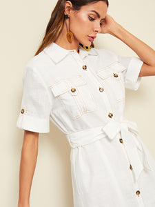 Corazon Shirt Dress