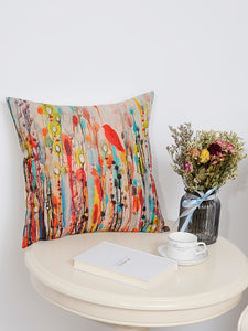 Watercolor Wonder Cushion Cover