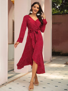 Scarlet Wrap Dress