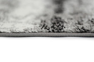 Raya Rug - Charcoal Grey & White (3 Sizes)