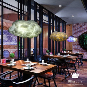 Interactive Cloud Pendant Light