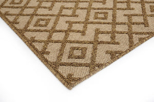 Jarrah Natura Rug - Tan/Bisque Beige (6 Sizes)