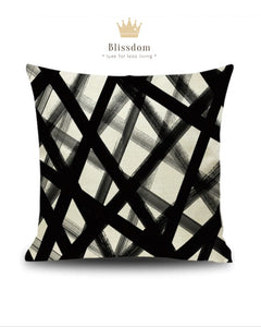 Geo Graffiti Cushion Cover