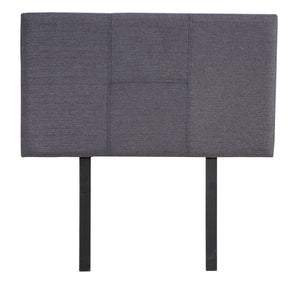 Walt Linen Single Bed Headboard - Grey