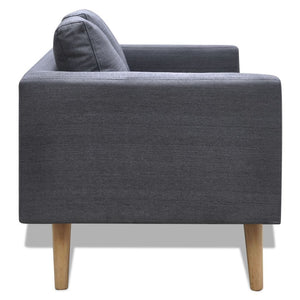 Indiana 2 Seater Fabric Sofa (2 Colours)