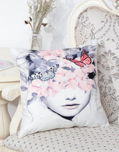 Flutter Cushion Cover