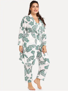 Noosa Dua Loungewear Set (Plus Sizes)