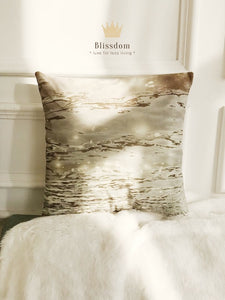 Sparkling Lake Cushion Cover