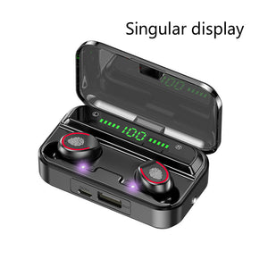 TWS Wireless & Waterproof Sports Earphones & Charging Case