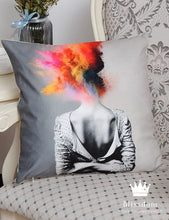 Mind Blown Cushion Cover