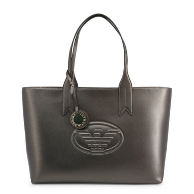 Emporio Armani East West Eagle Logo Shopper