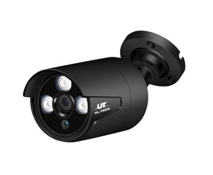 UL-TECH 1080P 4CH Wireless Security Camera NVR Video (2 Cameras)
