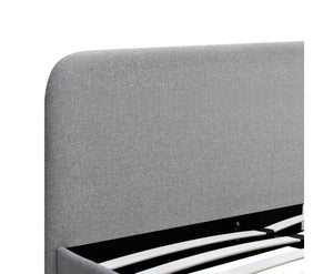 Chet Bed Frame - Grey (2 Sizes)