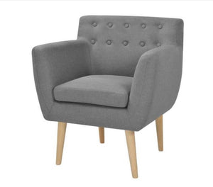 Madison Fabric Armchair (2 Colours)