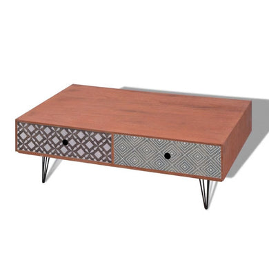 Jeramiah Coffee Table - 100cm (2 Colours)