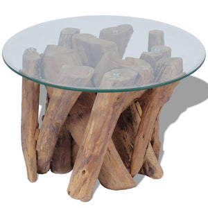 Hunter Solid Teak Coffee Table - 60cm
