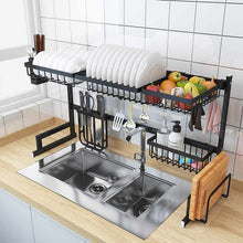 Vortech Double Stainless Steel Drying Rack (Multiple Styles, Colour & Size Options)