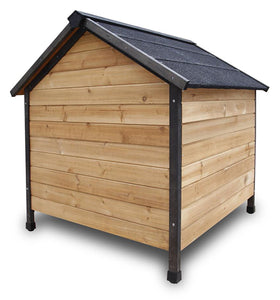 Wood Cabin Dog House - XL