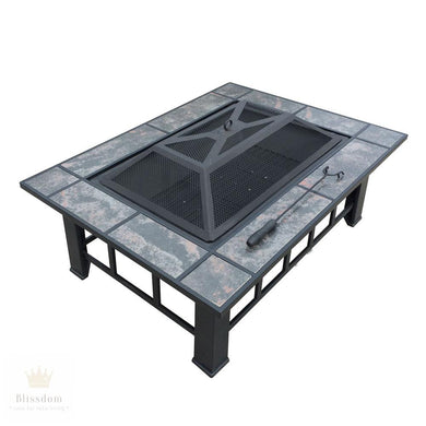 Grillz 3 in 1 Outdoor Table (fire pit/drinks chiller/BBQ Grill)