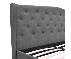 Positano Fabric Bed Frame - King Size