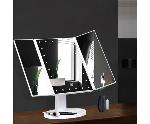 Blessed LED Tri-Fold Makeup Mirror