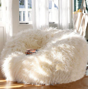 Lush Lounger ~ Oversized Bean Chair