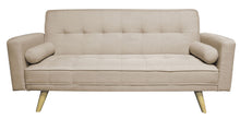 Taylor 3 Seater Linen Sofa Bed (2 Colours)