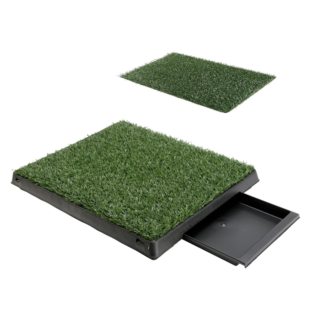Next to Nature Grass Potty Training Tray + 1 x Grass Mat