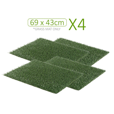 Next to Nature Grass Potty Training Mats - 4 x Grass Mats Only