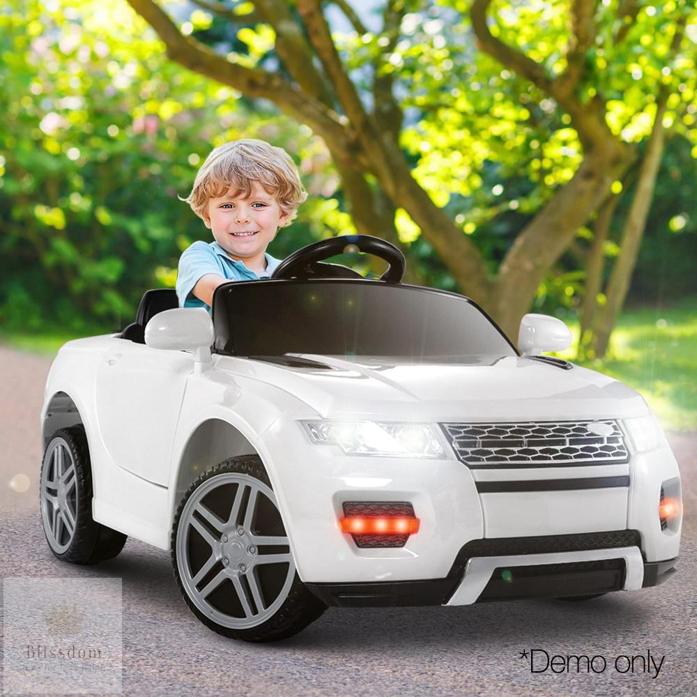 Range Rover Evoque SUV Kids Electric Ride on Car - 2 Colours (Manual + Remote Control)