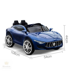 Maserati Kids Electric Ride on Car (Manual + Remote Control)