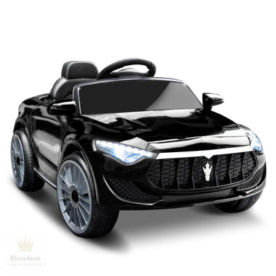 Maserati Kids Electric Ride On Car - 3 Colours (Manual + Remote Control)